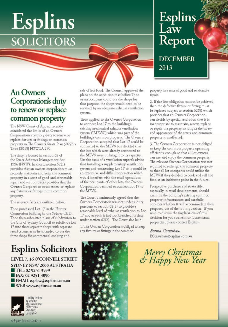 esplins_newsletter_december_2013
